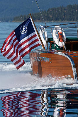 Photograph - Thunderbird Ensign by Steven Lapkin