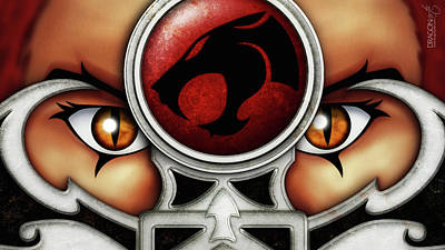 Thundercats Digital Art - Thundercats by Dorothy Binder