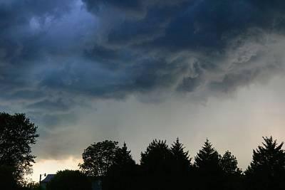 Photograph - Thundershower by Kathryn Meyer