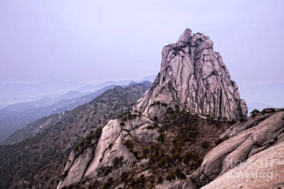 Photograph - Tianzhu Peak by Charline Xia