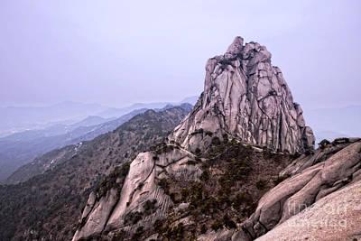 Anhui Photograph - Tianzhu Peak by Charline Xia
