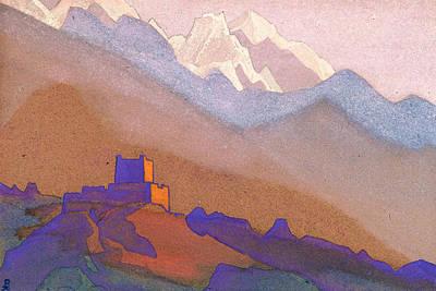 Spiritual Painting - Tibet, Himalayas by Nicholas Roerich