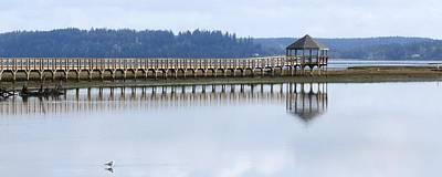 Photograph - Tidal Reflections by I'ina Van Lawick