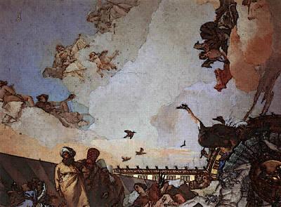 Digital Art - Tiepolo Palacio Real Glory Of Spain  by Giovanni Battista Tiepolo