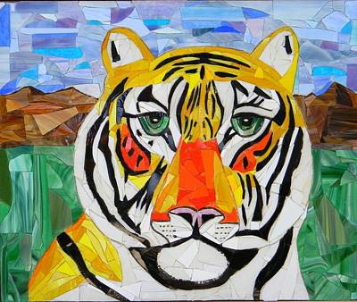 Tiger Art Print by Charles McDonell
