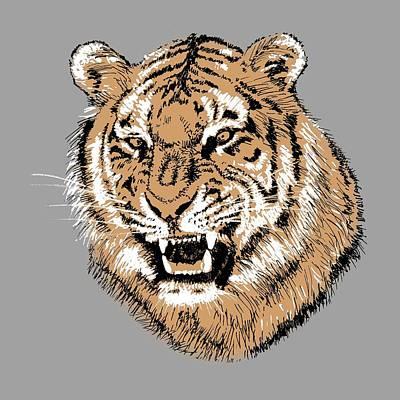 Painting - Tiger by Masha Batkova