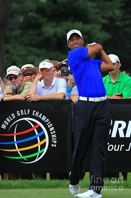 Tiger Woods Pga Pro Golfer Art Print