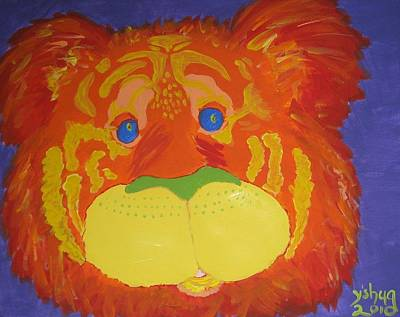Acryllic Painting - Tiger by Yshua The Painter