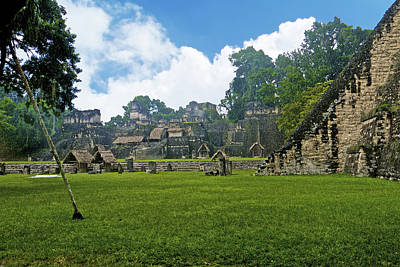 Photograph - Tikal, Guatemala by Marius Sipa