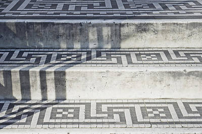 Tiled Steps Print by Tom Gowanlock