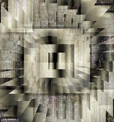 Digital Art - Tiles by Iris Gelbart