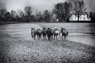 Agriculture Wall Art - Photograph - Tilling The Fields by Tom Mc Nemar