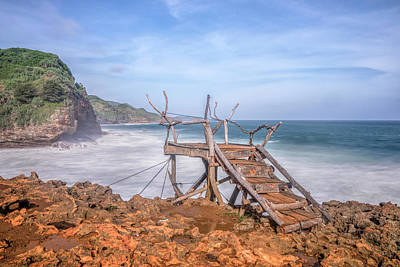Jogjakarta Photograph - Timang Beach - Java by Joana Kruse