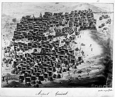 Photograph - Timbuktu 1828 by Granger
