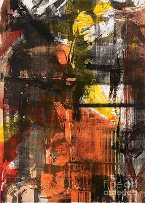 Xerox Mixed Media - Time Is The Fire In Which We Burn-part 2 by Seymour Kleinberg