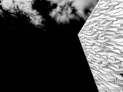 Photograph - Titanic Belfast by Jim Orr