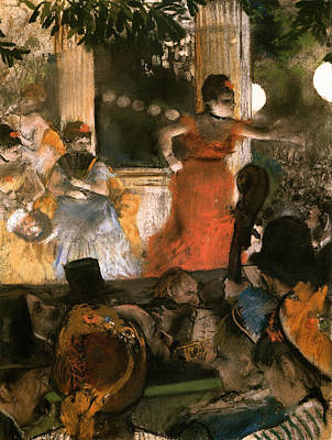 Song Painting - To The Ambassadors by Edgar Degas