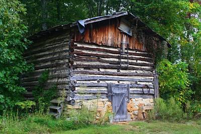 Photograph - Tobacco Barn by Kathryn Meyer