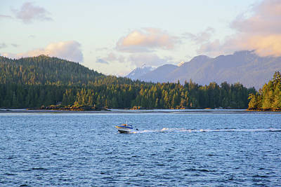 Photograph - Tofino Sunset by Keith Boone