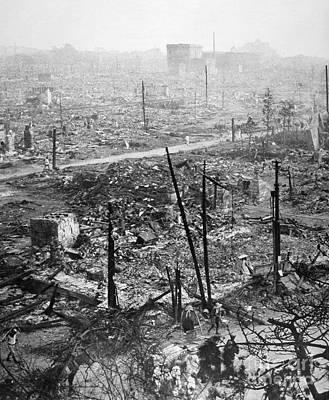 Photograph - Tokyo Earthquake, 1923 by Granger