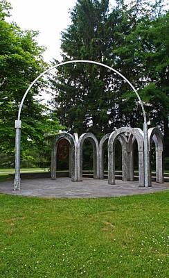 Photograph - Toledo Botanical Garden Arches by Michiale Schneider