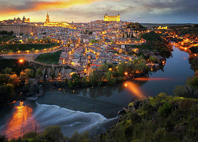 Photograph - Toledo Old City by Anek Suwannaphoom