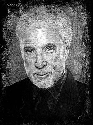 Famous Musician Drawing - Tom Jones by Andrew Read