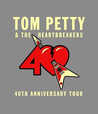 Tom Petty Digital Art - Tom Petty by Ming Chandra