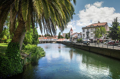 Photograph - Tomar Cityscape by Carlos Caetano