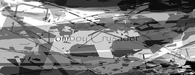Tomboy Digital Art - Tomboy Crusader 3 by Tate Devros