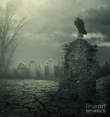 Tombstone Digital Art - Tombstone by Jelena Jovanovic