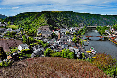 Top View. Moselle River. Original