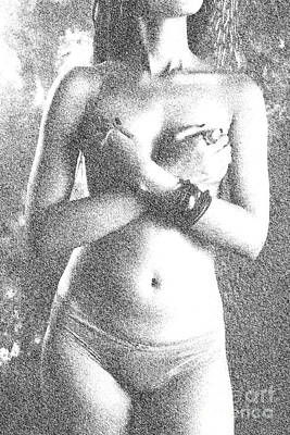 Photograph - Topless by Kiran Joshi