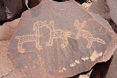 Photograph - Toro Muerto Petroglyph 42 by Aidan Moran