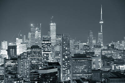 Photograph - Toronto Dusk by Songquan Deng