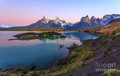 Photograph - Torres Del Paine 05 by Bernardo Galmarini