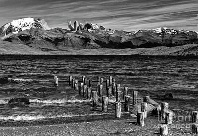 Photograph - Torres Del Paine 07 by Bernardo Galmarini