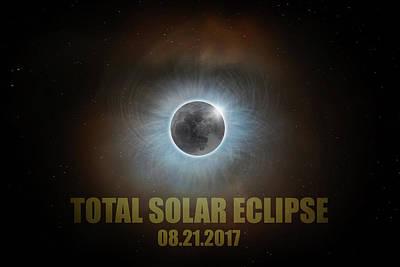 Corona Photograph - Total Solar Eclipse by David Gn