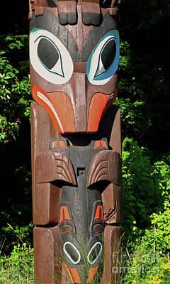 Photograph - Totem Eyes by Ann Horn
