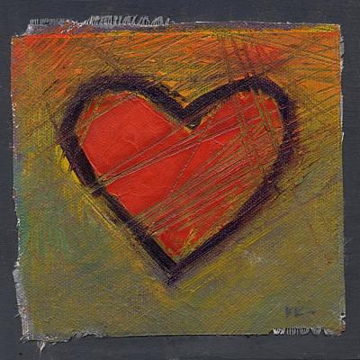 Painting - Tough Love 1 by Konnie Kim