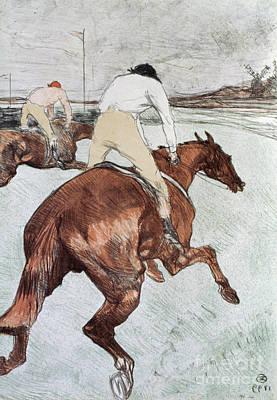 Toulouse-lautrec, 1899 Art Print by Granger