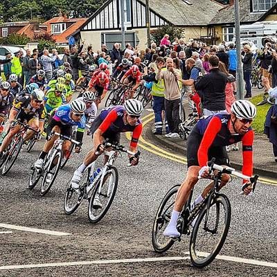 Cycling Photograph - Tour Of Britain 2015 - Cycling Bradley Wiggins by Stew Lamb