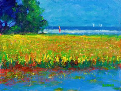 Painting - Toward The Beach by Vernon Reinike