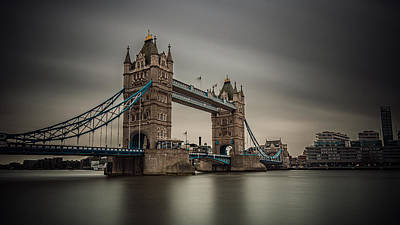 Photograph - Tower Bridge by Kelvin Trundle