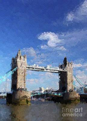 Royalty-Free and Rights-Managed Images - Tower Bridge, London, Enagland by Esoterica Art Agency