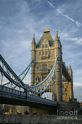 Photograph - Tower Bridge London by Patricia Hofmeester