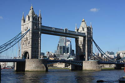 Photograph - Tower Bridge, London, United Kingdom by Aidan Moran