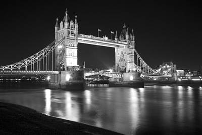 Tower Bridge On The Thames London Art Print