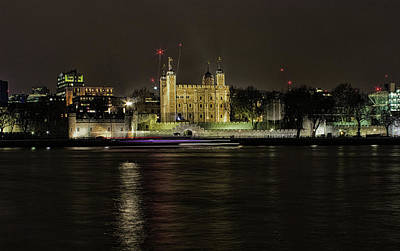 Gothic Bridge Photograph - Tower Of London by Martin Newman