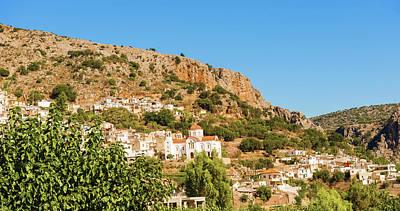 Photograph - Town Of Kritsa In Crete, Greece. by Marek Poplawski